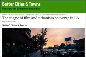 Better Cities and Towns