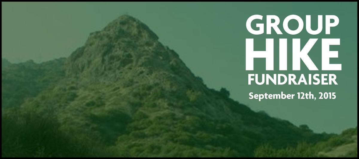 group hike fundraiser